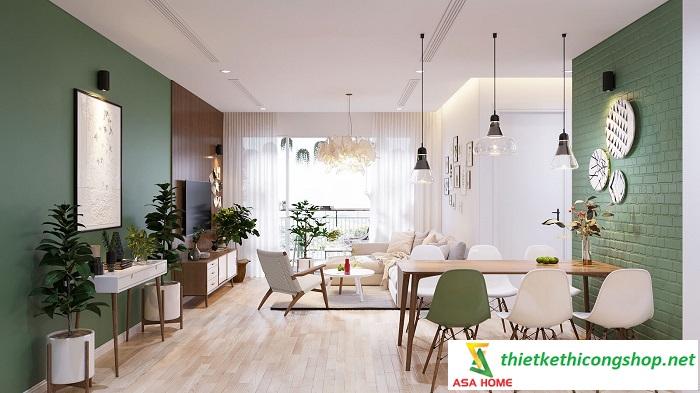 thiết kế nội thất căn hộ chung cư 1