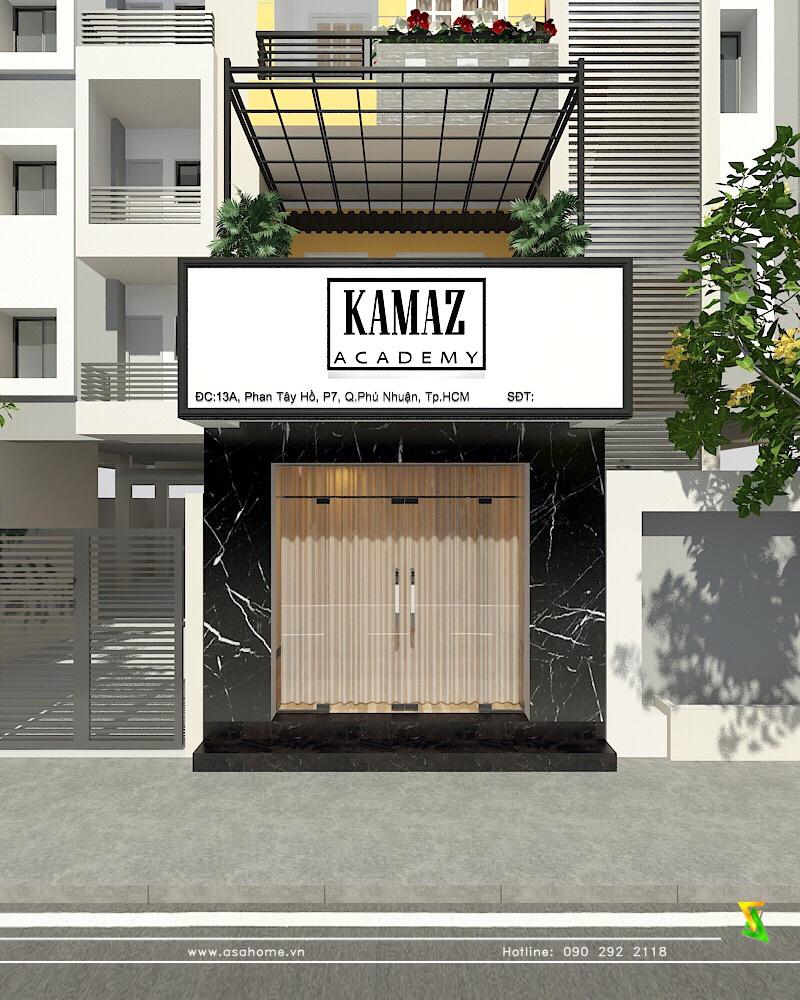 Thiết kế học viện makeup KAMAZ tại quận phú nhuận