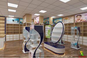 Thiết kế thi công hệ thống nhà thuốc tây EURHO VITAL