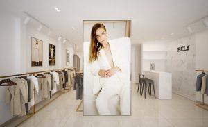 Thiết kế shop thời trang Bely quận 3