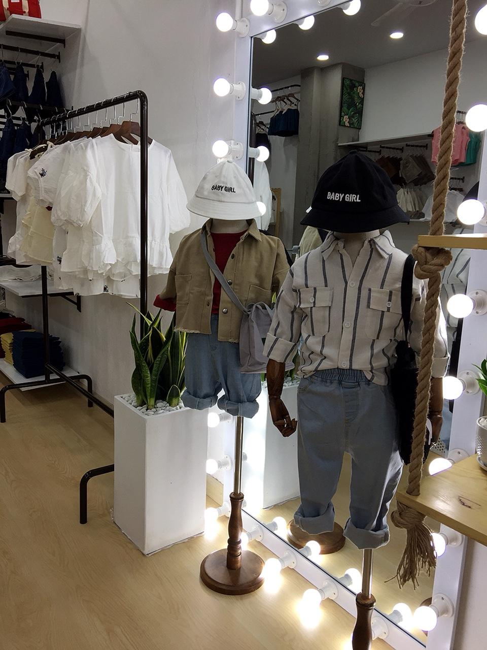 Thi công shop thời trang trẻ em Quận 12 -01