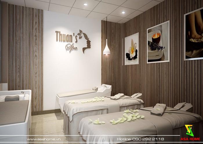 Thiết kế spa Thuận tại Bình Dương