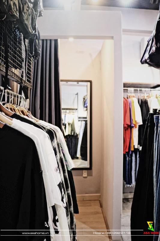 Hình ảnh thực tế sau thi công shop thời trang ONE TN 2