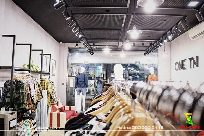 Hình ảnh thực tế sau thi công shop thời trang ONE TN 1