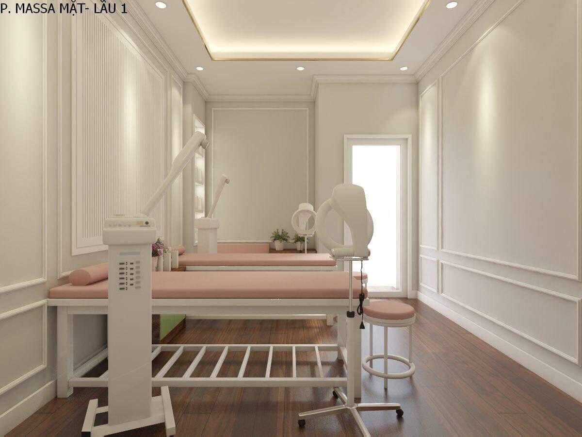 thiết kế spa Hana Beauty 7