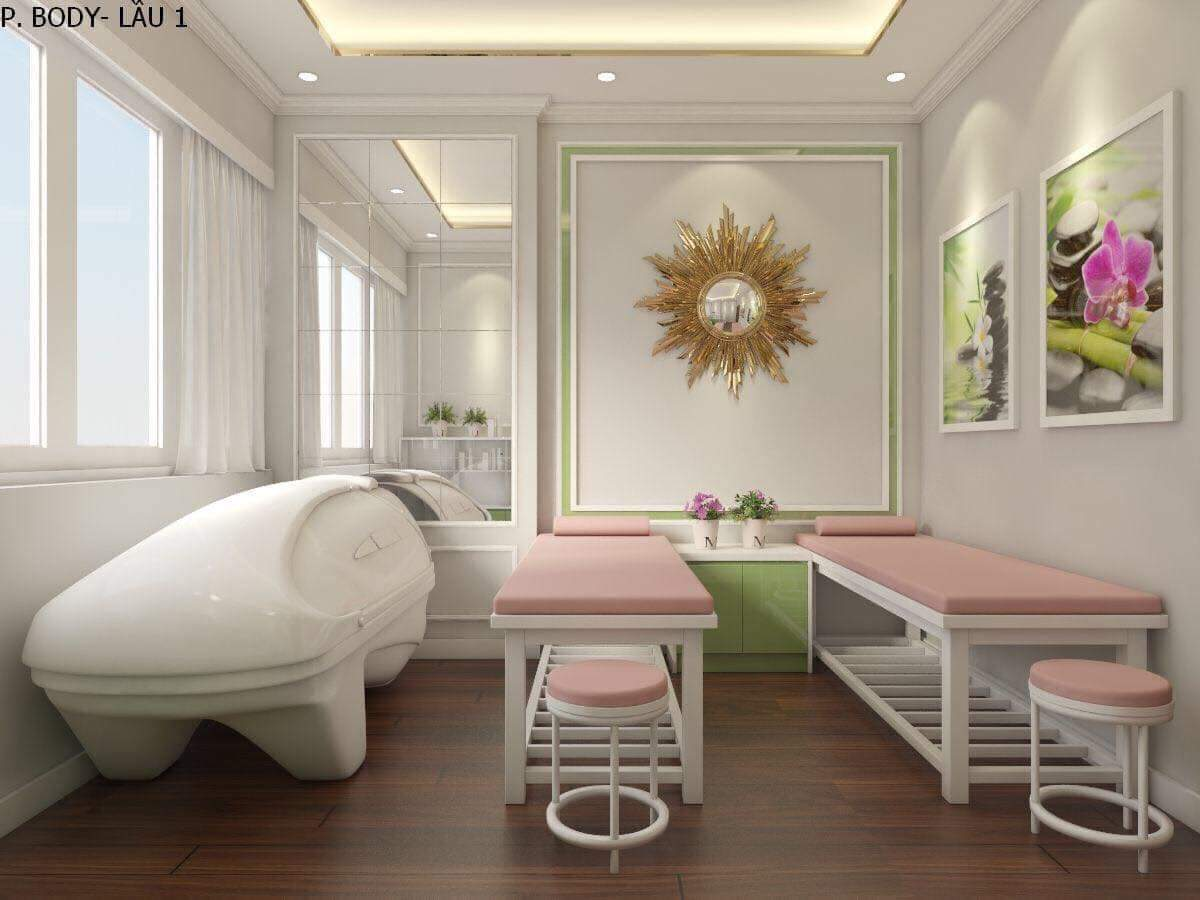 thiết kế spa Hana Beauty 4