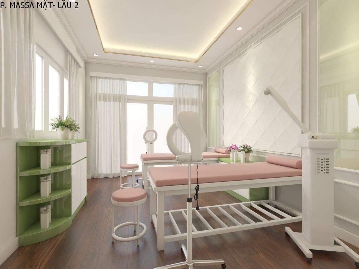 thiết kế spa Hana Beauty 3
