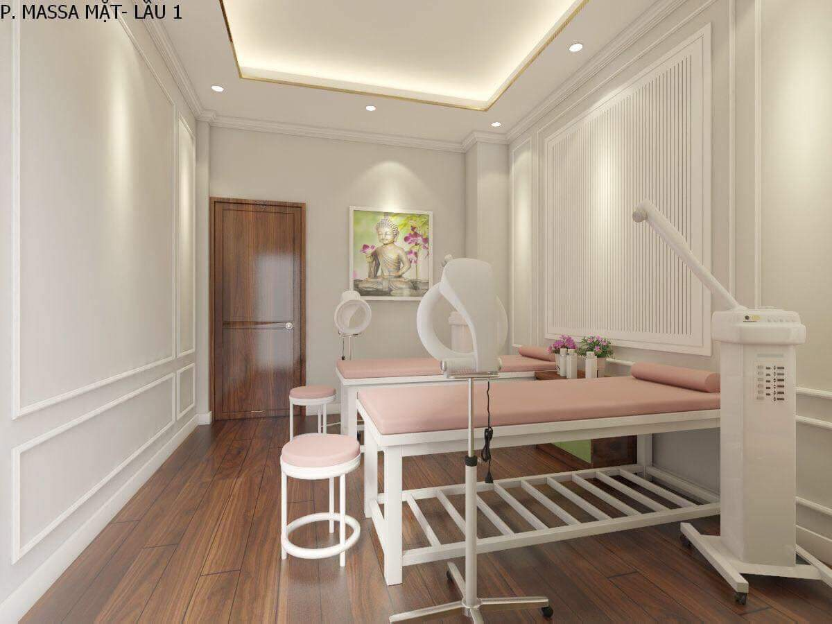 thiết kế spa Hana Beauty