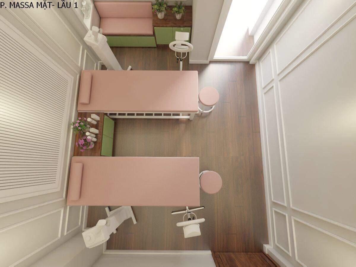 thiết kế spa Hana Beauty 6