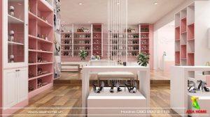 thiết kế shop giày dép Quỳnh 4