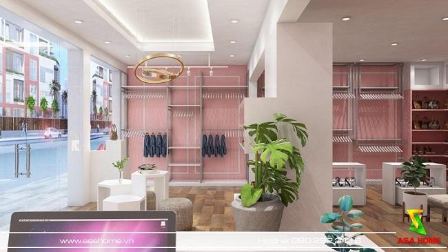 thiết kế shop giày dép Quỳnh 1