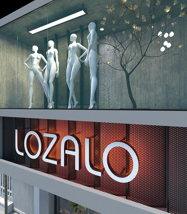 thiết kế shop thời trang nam Lozalo 6