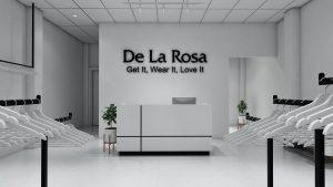 thiết kế shop thời trang De La Rosa