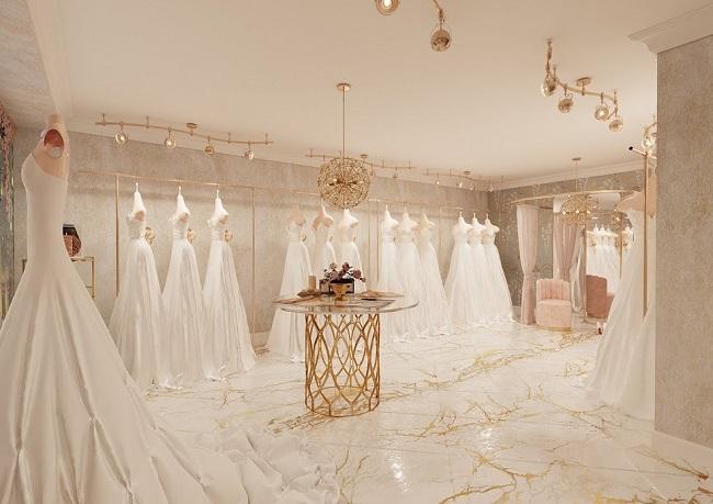 Bí quyết trang trí studio áo cưới 2
