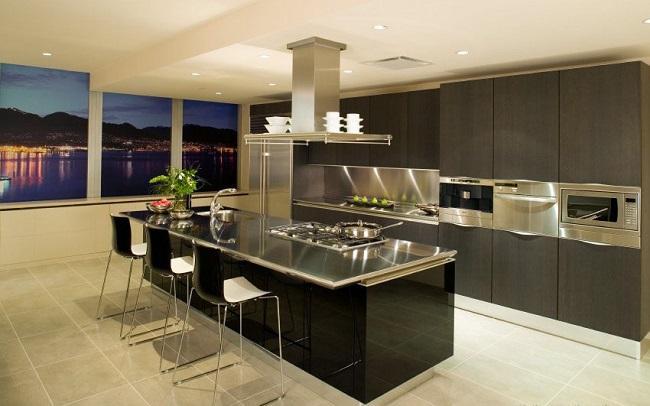 thiết kế nhà bếp đơn giản 2