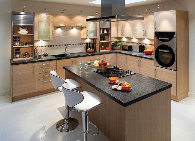 thiết kế nhà bếp đơn giản