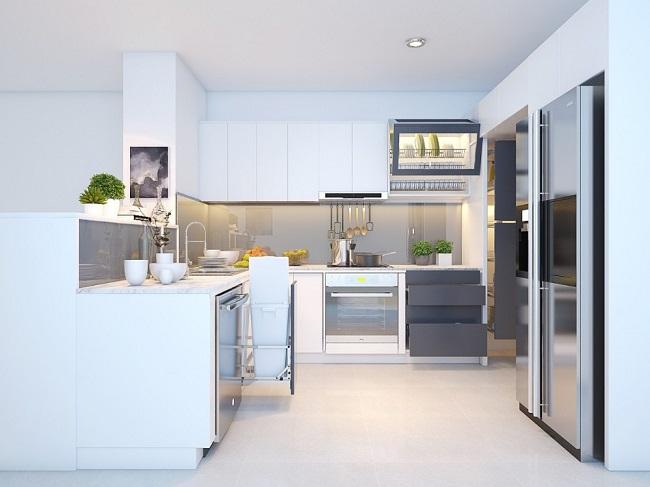 thiết kế nhà bếp đơn giản 1