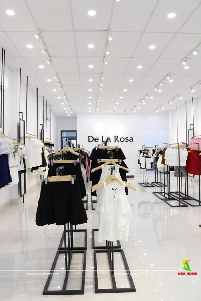 Thiết kế - thi công shop thời trang De La Rosa trẻ trung hiện đại - Shop thời trang nữ tại Thủ Đức
