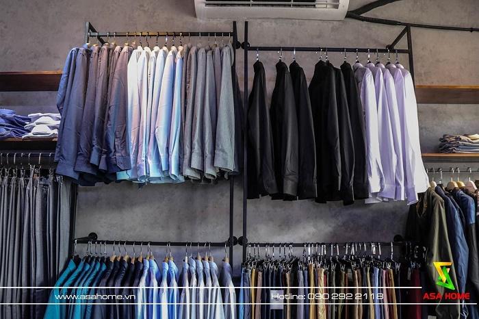 Thi công Shop Thời trang Nam LOZANO tại Gò Vấp