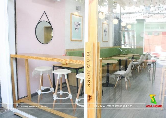 Thiết kế - Thi công quán trà sữa Enny Tea & More