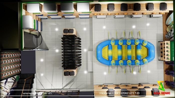 Thiết kế - Thi công Shop Thời trang Hoạt động giải trí ngoài trời WeTrek
