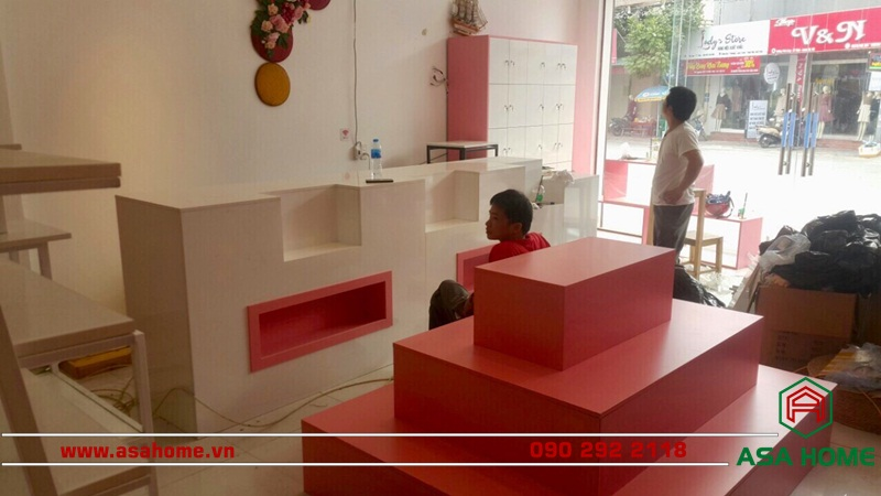 Quá trình hoàn công công trình thiết kế shop thời trang trẻ em